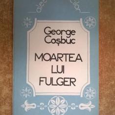 George Cosbuc - Moartea lui Fulger