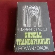UMBERTO ECO - NUMELE TRANDAFIRULUI CARTONATA