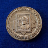 Medalie Mihai Eminescu - Casa din Ipotesti - 1979