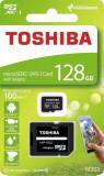 Card memorie Toshiba M203 Micro SDXC 128GB Class 10 UHS-I + Adapter