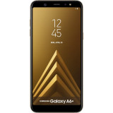 Smartphone Samsung Galaxy A6 Plus (2018) 32GB Gold, Neblocat, 6''