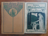 Lot 2 carti vechi de povesti in limba germana /  R2P2S, Alta editura