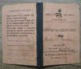 Carnet de identitate Liceul Teoretic de Baieti din Turnu-Magurele// 1941-42