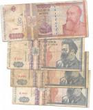 Lot bancnote 500 LEI (3) si 10.000 lei (1)