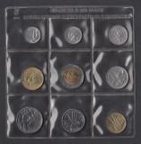 Set Monetarie San Marino 1985 lire 1 2 5 10 20 50 100 500, Europa