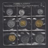 Set Monetarie San Marino 1986 lire 1 2 5 10 20 50 100 500, Europa