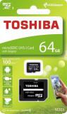 Card memorie Toshiba M203 Micro SDXC 64GB Class 10 UHS-I + Adapter