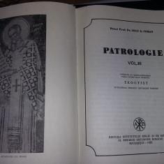 Carte veche religioasa 1988,PATROLOGIE Vol.3,Preot Ioan G.Coman,Transp.GRATUIT