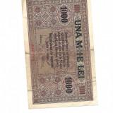 Bancnota 1000 UNA MIIE LEI BGR 1917