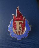 Insigna - emblema Flacara Ploiesti