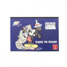 Caiet 16 file desen Pigna Premium Mickey Mouse