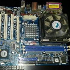 Placa de baza AsRock P4VM890 + Procesor si cooler (FSB 800, DDR)