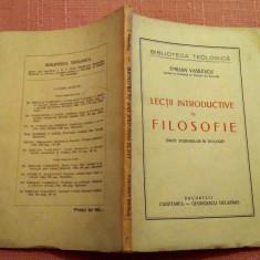 Lectii Introductive In Filosofie.Cugetarea - Bucuresti, 1943 - Emilian Vasilescu