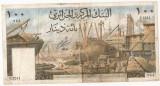 ALGERIA 100 DINARI DINARS 1964 U