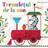 Trenuletul de la zoo. Bebe invata. Puzzle, litera