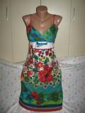 Rochie Desigual cu bretele Mar 40, Multicolor
