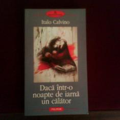 Italo Calvino Daca intr-o noapte de iarna un calator
