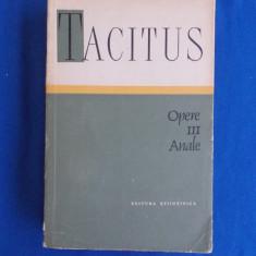 P. CORNELIUS TACITUS - OPERE * VOL. III : ANALE - 1964