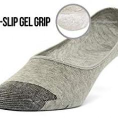Sosete joase barbati (invizibile din pantofi), Gri