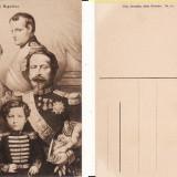 Ilustrata Franta -Familia Napoleon Bonaparte, Napoleon al II-lea, al III-lea, Necirculata, Printata
