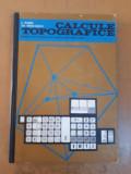 Gagea Nicolaescu Calcule topografice manual școli de specializare postliceale