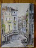 Cumpara ieftin Venetia-pictura ulei pe panza;