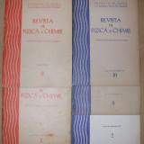 Lot Revista de fizica si chimie 1,9/1976; 2,9,10/1977; 1,4,5,8/1978; 10,12/1979