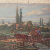 Tablou Barabas Marton, Peisaje, Ulei, Impresionism