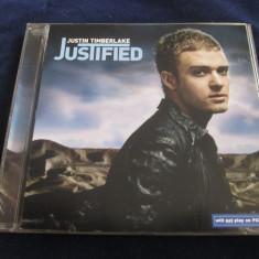 Justin Timberlake - Justified _ CD,album _ Jive ( Europa , 2002 )