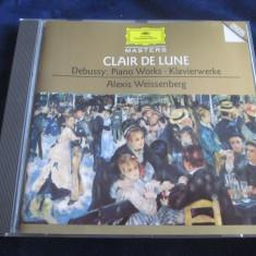 Debussy,A.Weissenberg - Piano Works _ CD _ Deutsche G ( SUA , 1995 ), Deutsche Grammophon