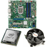 KIT Placa de baza Intel DQ77MK, LGA1155, Intel i7-3770 3.4GHz, 4 nuclee, Cooler...