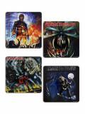 Set 4 suporturi pentru pahare - Iron Maiden | Rock Off