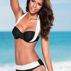 Costum de Baie Talie Inalta Sexy Bralette Brazilian Bikini Sutien Straps