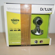 Camera Web Delux DLV-B03, noua, in cutie!