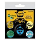 Insigne - Breaking Bad Heisenberg - mai multe modele | GB Eye
