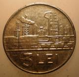 2.351 ROMANIA RSR 3 LEI 1966 EROARE FARA I SOCIALISTA