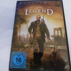 I am legend - dvd, Engleza