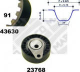 Set curea de distributie FORD FOCUS 1.8 Turbo DI / TDDi - MAPCO 23630