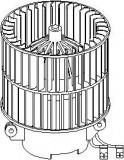 Electromotor, ventilatie interioara OPEL ASTRA F 1.7 TDS - TOPRAN 207 330