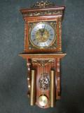 Pendula,ceas de perete antic in stilul Napoleon 3 cu elemente din bronz