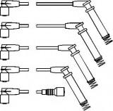 Set cablaj aprinder OPEL CORSA A hatchback 1.4 S - TOPRAN 202 526