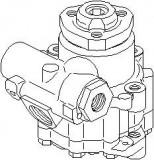 Pompa hidraulica, sistem de directie VW TRANSPORTER / CARAVELLE Mk IV bus 2.4 D Syncro - TOPRAN 113 539