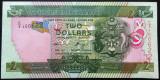 Bancnota EXOTICA 2 DOLARI - INSULELE SOLOMON, anul 2011  *cod 505 --- UNC