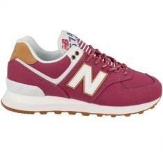 Pantofi Femei New Balance WL574SYF, 36, 36.5, 37, 37.5, 38, 38.5, 39, 40, 40.5, Bordeaux