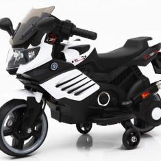 SUPER MOTOCICLETA ELECTRICA PT.COPIII,REPLIKA BMW CU ACUMULATOR,ROTI AJUTATOARE.