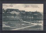 SFANTU  GHEORGHE   PIATA  REGINA MARIA  CU PREFECTURA  CIRCULATA  1928, Printata, Sfantu Gheorghe
