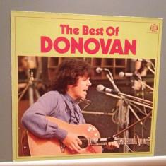 DONOVAN – THE BEST OF (1970/PYE rec/ENGLAND) - Vinil Analog/Impecabil, emi records