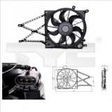 Ventilator, radiator OPEL ASTRA G hatchback 1.2 16V - TYC 825-0011