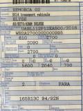 Remorca Auto Blyss Adam DELUXE 2016