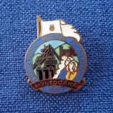 Insigna Festivalul Tineretului - Hunedoara 1957